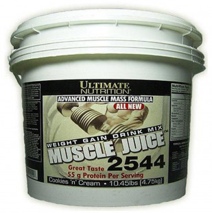 Гейнер Ultimate Nutrition Muscle Juice 2544 10 lb (4500 г)